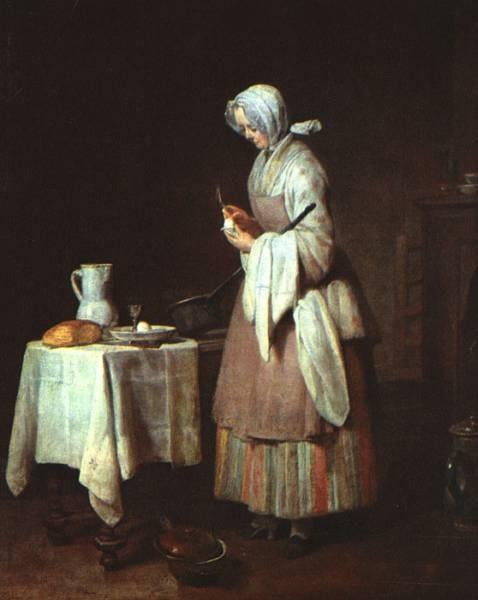 Chardin The Attentive Nurse